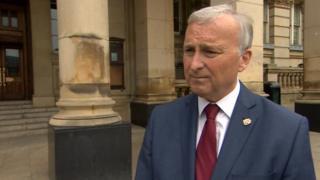 Council leader Ian Ward