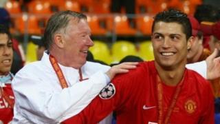 Sir Alex Ferguson da Cristiano Ronaldo