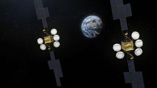 Hotbird satellites