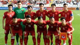 Đội hình Việt Nam khi gặp Iran hôm 12/1 tại Abu Dhabi