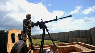 Umusirikare wa Somalia ku kirindiro
