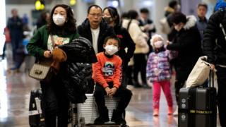 北京机场的乘客