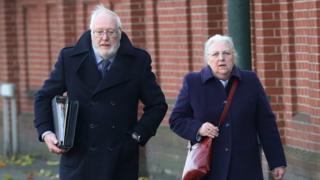 Alan Hampshire and Margaret Hampshire