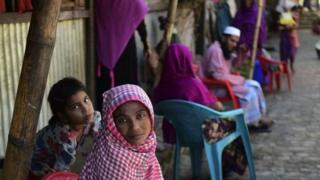 تعدادی از مسلمانان روهینجا