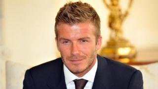 """David Beckham estime que c'est """"inacceptable"""" le nombre de morts que fait le paludisme dans le monde."""