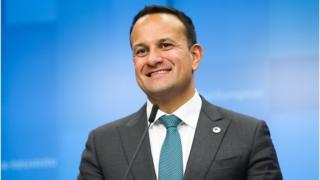 Irish Taoiseach Leo Varadkar