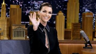 Ruby Rose in an interview on US television last week