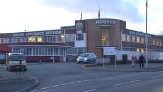 Hoover factory Merthyr Tydfil