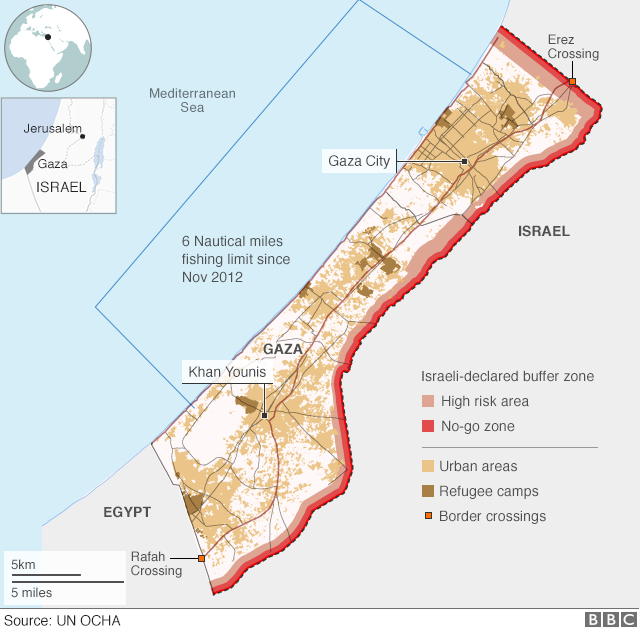 Israel-Palestinian conflict: Life in the Gaza Strip
