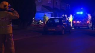 Clevedon Car Crash
