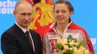 Путин и Вилухина