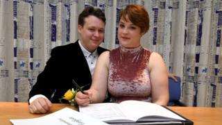 Kieran Hodgson and Adeline Cosson