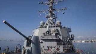 """美国海军""""库克""""号(USS Donald Cook)"""