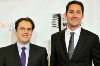 Kevin Systrom (R) and Mike Krieger