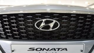 Hyundai car grill