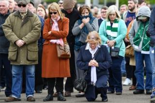 Fans at Celtic Park