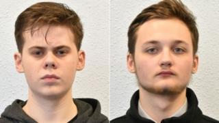 Michal Szewczuk ve Oskar Dunn-Koczorowski