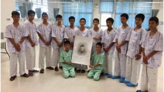 тайские подростки провели 17 дней в затопленной пещере и остались живы