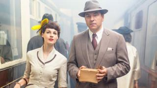 Jessica Raine and David Walliams in Partners in Crime