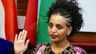 Birtukan Mideska yabaye unenga bikomeye urugaga rw'amashyaka ari ku butegetsi muri Ethiopia, biza no kumuviramo guhunga igihugu