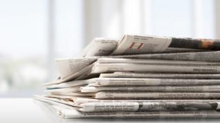 Foto ilustrativa de jornais