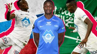 The football player Babacar Sarr