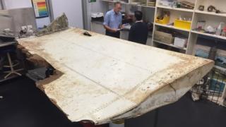 Airplane debris found off the coast of Tanzania found in June 2016