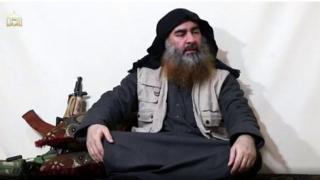 Аль Багдади, кадр из пропагандистского видео ИГ