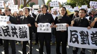 Митинг против однополых браков