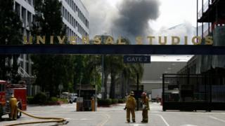 Пожар на Universal