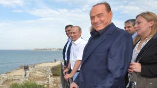Берлусконі і Путін