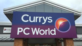 Currys PC World shop front