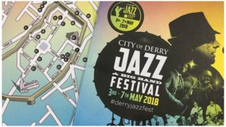 derry jazz festival logo