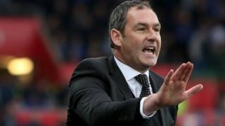 Swansea City boss Paul Clement