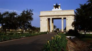 L'Arche de l'indépendance à Accra