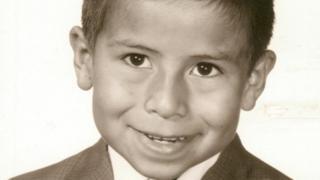 José Reyes cuando era niño.