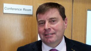 Police and Crime Commissioner Peter McCall