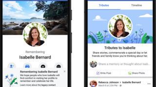 تغییر الگوریتم فیسبوک برای درگذشتگان