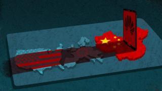 化為,中美關係