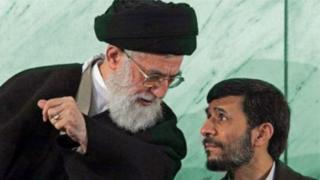 نامزدی احمدی نژاد و تقابل تمام عیار با آیت الله خامنه ای