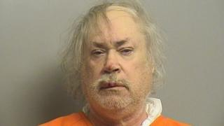 Stanley Vernon Majors, 61, is suspected of shooting Khalid Jabara, 37, at his home in the US city of Tulsa on Friday.
