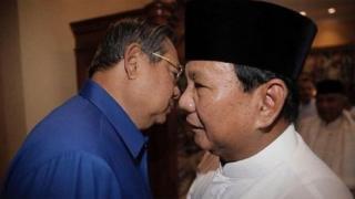 SBY dan Prabowo Subianto