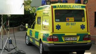 Swedish ambulance