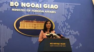 Phát ngôn viên Bộ Ngoại giao Lê Thị Thu Hằng