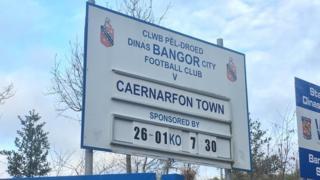 Bangor v Caernarfon
