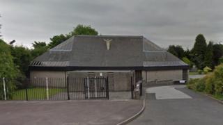 St Vincent de Paul RC Church in Norden, Rochdale