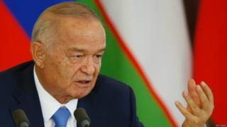 Özbəkistan prezidenti İslam Kərimov