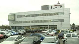 Almac's headquarters is based in Craigavon, County Armagh