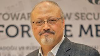 The Saudi journalist Jamal Khashoggi in Istanbul, Turkey, May 6, 2018