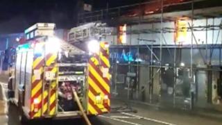 Fire at Storm Art Gallery, Padiham